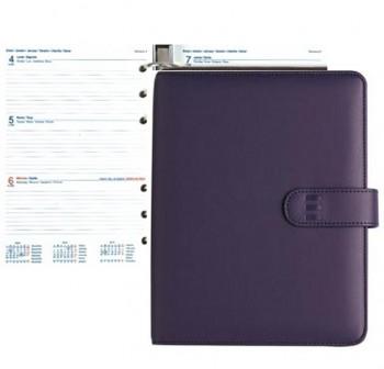 Agenda finocam open 500 novel semana vista 11,7x18,1cm morado