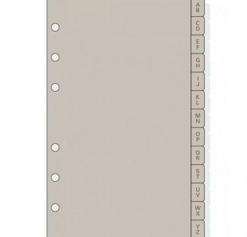 Indice alfabético Finocam Open r1064 separadores de plástico grande