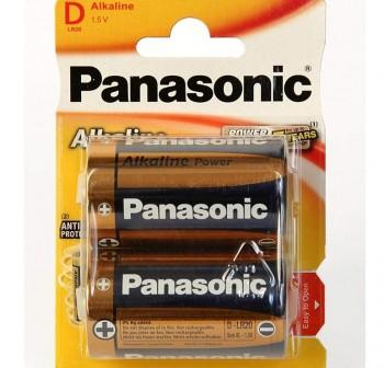 PANASONIC Pila lr20 (2) alkalina