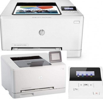 HP Impresora laserjet PRO M252N color USB LAn