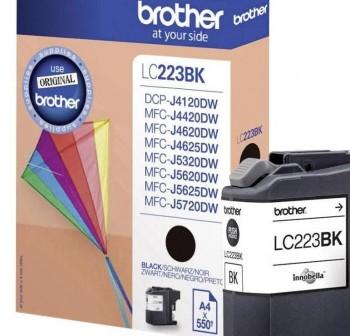 BROTHER Cartucho inkjet LC-223BK original NEGRO