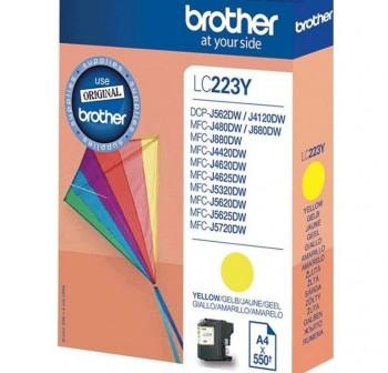 BROTHER Cartucho inkjet LC-223Y original AMARILLO