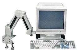 EXPONENT Soporte monitor y teclado articulado