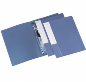Dossier bolsa + autopers. fastener A4 Multifin d092 AZUL