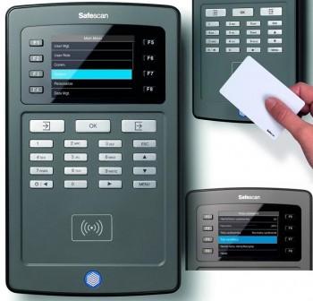 SAFESCAN Terminal de fichaje serie TA-8010 (tarjeta)
