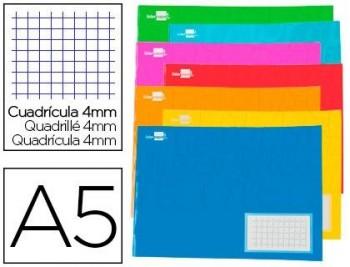 LIDERPAPEL Libreta apaisada 32 hojas CUARTO C-4mm.