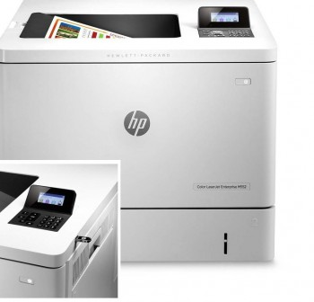 HP Impresora LaserJet Enterprise 500 Color M552dn A4    33/33pm, 600pp, 650h, USB/Eth