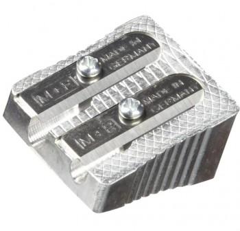DFH Afilador doble metálico en forma de cuña