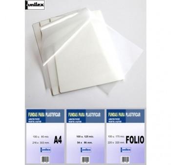 DFH Laminas plastificar 303x426 (A3) 125micr.(100udes)