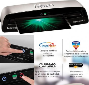 FELLOWES Plastificadora Neptune3 A3
