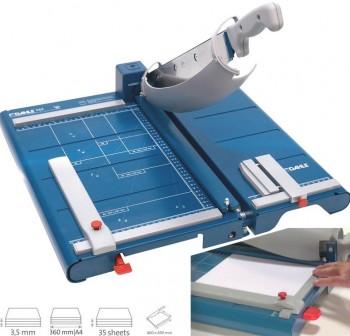 DAHLE Cizalla de palanca PREMIUM 562 - ancho de corte 360 mm/ A4 - capacidad 3,5 mm   - Incluye unid
