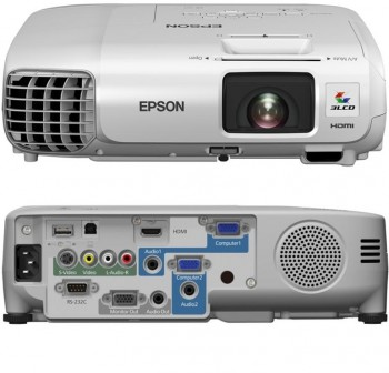 Videoproyector Epson EB-S27 Proyector LCD-2700 lúmenes-SVGA (800 x 600) - 4:3