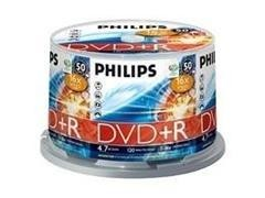 PHILIPS DVD+R 1-16x 4,7GB pack-50