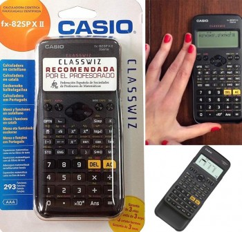 Calculadora científica casio fx-82spx II