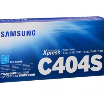 SAMSUNG Toner laser CLT-C404S CIAN (1K) original SL-C430/W/480