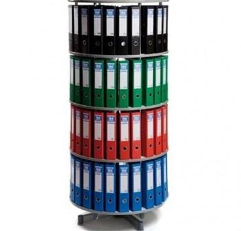 CINKO Armario rotativo para archivadores folio 4 niveles