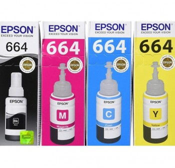 EPSON Cartucho inkjet T6644 original AMARILLO 70ml