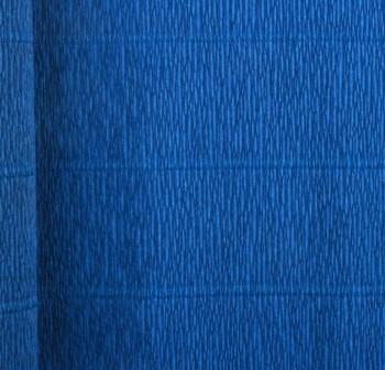 F7I Bobina papel crepe 50x250cm metalizado AZUL