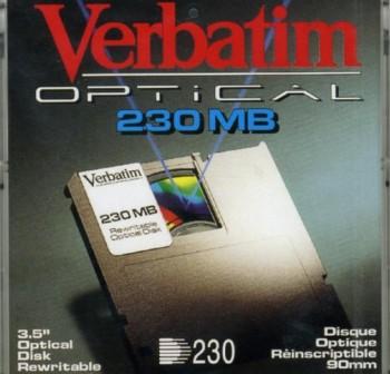 VERBATIM Disco magneto-optico