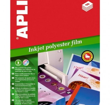 APLI Papel din A-4 poliester photo