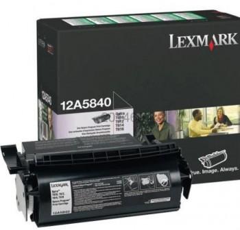 LEXMARK Toner laser 12A5840 negro original