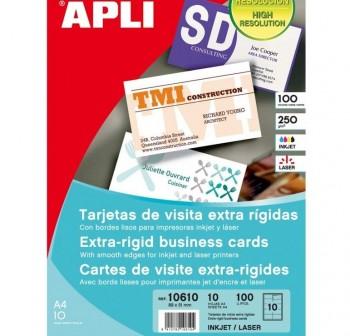 APLI Tarjeta visita diseño