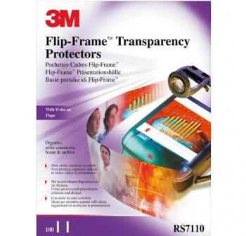 3M Funda protectora transparencia caja 100u