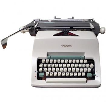OLYMPIA Maquina escribir sg3 manual (carro 46)