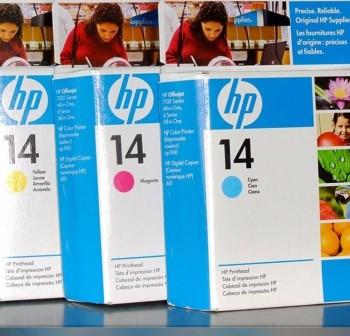 HP Cabezal inkjet C492*A original Nº14