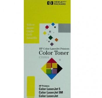 HP Toner laser C3103A amarillo original