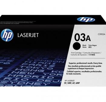 HP Toner laser C3903A negro original