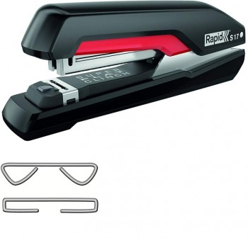 Grapadora  Rapid Supreme FS S17 30 hojas negra /roja