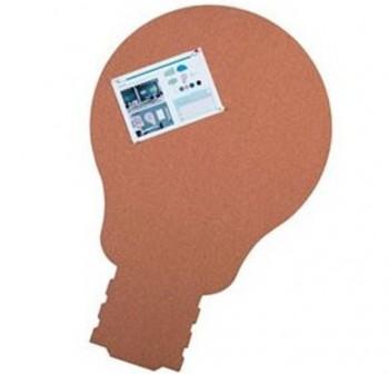 Pizarra Skin Shape Idea de corcho 75x115cm