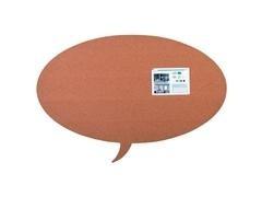 Pizarra Skin Shape Talk de corcho 75x115cm
