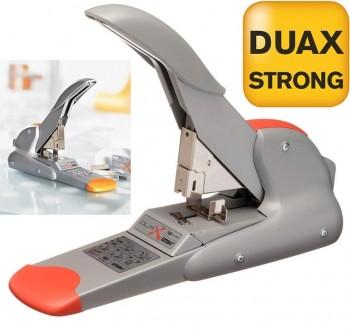 RAPID Grapadora gran capacidad Rapid Duax gris naranja