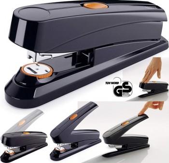 Grapadora automática flat-clinch Novus B8FC negra