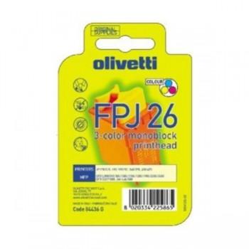 OLIVETTI Cartucho inkjet FPJ-26 color original
