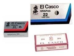 Caja 1000 grapas galvanizadas El Casco 40/6