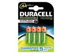 Pack 4 pilas recargables AA RX06 Duracell stay charsed