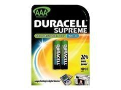 Pack 2 pilas recargables Duracell stay charsed AAA B2 RX03