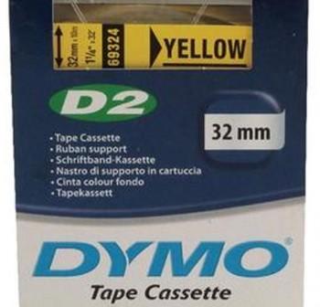 Cinta Dymo D2 32mmx10m amarillo