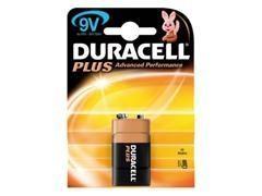 Pila alcalina plus Duracell 6LR61 9v