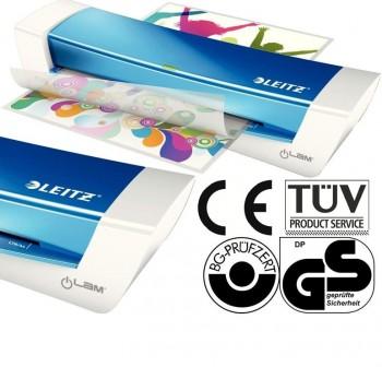 Plastificadora i-Lam Home Office A4 blanco/azul