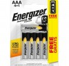 "Energizer Blister 4 pilas alcalinas power Energizer LR03 AAA + 1 ""GRATIS\"""