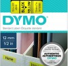 Cinta Dymo D1 12mmx7m negro/amarillo