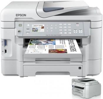 EPSON Equipo multifuncion inkjet color WORKFORCE WF-3530DTWF A4 38ppm 5760X1440dpi ETHERNET USB  WIF