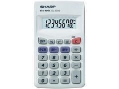 Calculadora de sobremesa Sharp EL-233E  8 dígitos
