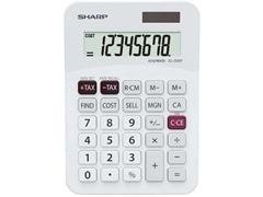 Calculadora de sobremesa Sharp EL-330E  8 dígitos