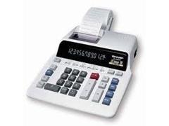 Calculadora impresora 2 colores Sharp EL-2607P 12 dígitos