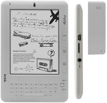 "E-book ketab advance 6"" táctil + wifi"